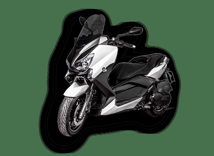 Renting Yamaha Xmax 125cc